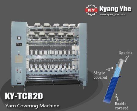 Beispiel einer Garnüberziehmaschine - KY-TCR20 Mustergarnüberziehmaschine