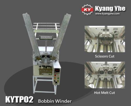 Bobbin Winder For Braiding Machine