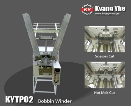 Bobbin Winder For Braiding Machine