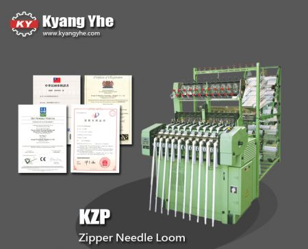 Professional High Speed Zipper Loom Machine - KZP High Speed Zipper Loom Machine