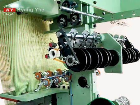 KY Vải hẹp Jacquard Phụ tùng máy dệt cho Bộ phận truyền động bộ nạp.