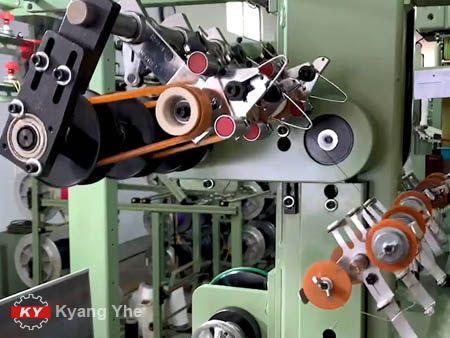 Pièces de rechange pour métier à tisser Jacquard en tissu étroit KY pour l'assemblage d'entraînement d'alimentateur.