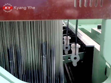 KY Vải hẹp Jacquard Phụ tùng máy dệt cho bộ phận lắp ráp đòn bẩy của bộ đồ giường.