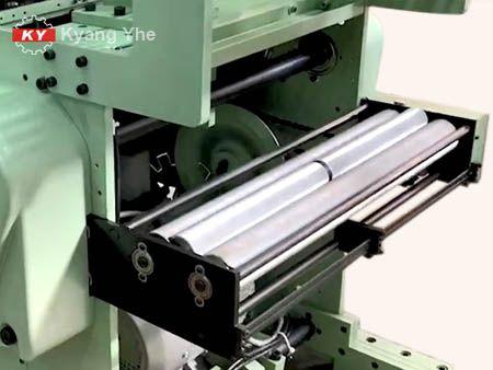 KYナローファブリックジャカード織機スペアパーツゴム供給アセンブリ用。