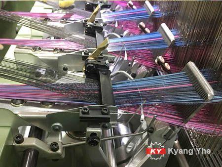 KY Vải hẹp Jacquard Phụ tùng máy dệt cho khung tấm băng.