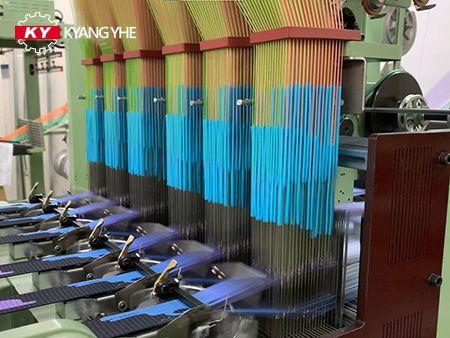 KY Narrow Fabric Jacquard Loom Spare Parts لقوس لوحة الشريط.