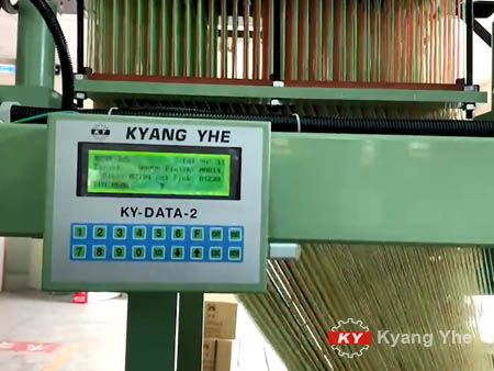 KY DATA 제어판용 KY 좁은 직물 자카드 직조기 예비 부품.