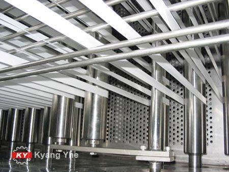 Машина для непрерывного высокотемпературного окрашивания лент с KY