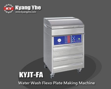 Máquina para fabricar placa flexográfica para lavagem com água - Máquina para fabricar placas flexográficas para lavagem a água KYJT-FA