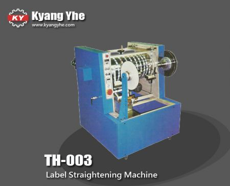 Trademark Straightening Machine - TH-003 Label Straightening Machine