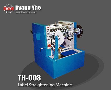 ट्रेडमार्क स्ट्रेटनिंग मशीन - TH-003 लेबल स्ट्रेटनिंग मशीन