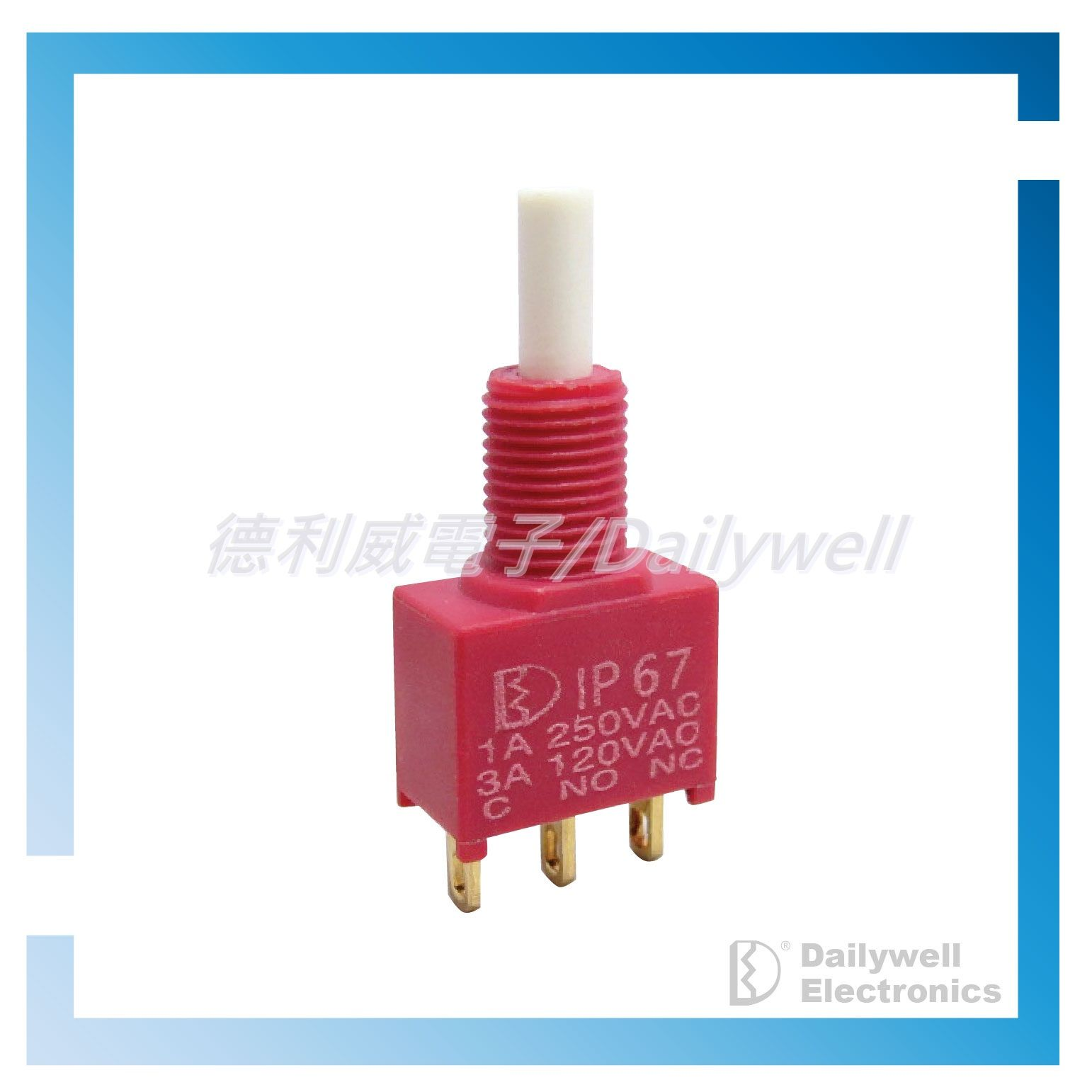 Sealed Snap-Acting Pushbutton Switches