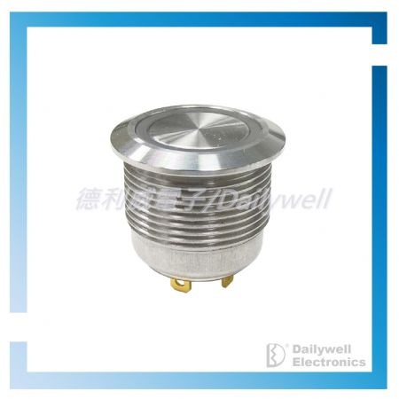 Interruttori metallici corti da 19 mm - Interruttori metallici corti da 19 mm