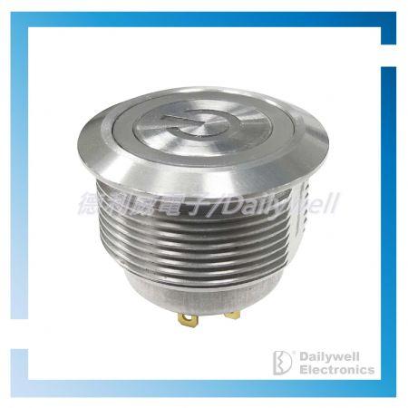 Interruttori in metallo corti da 22 mm - Interruttori in metallo corti da 22 mm