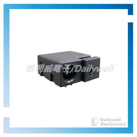 Кнопочный переключатель с разъемом постоянного тока и переключателями Reset-3-in-1 - Кнопочный переключатель с разъемом постоянного тока и переключателями Reset-3-in-1