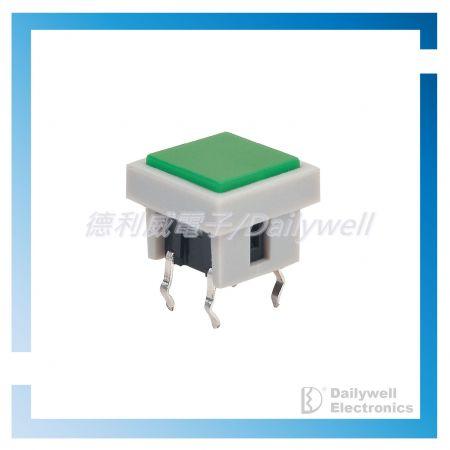 Тактовые переключатели SPST с подсветкой
