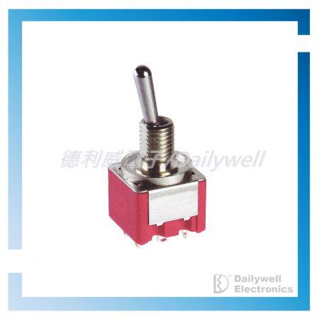 Interruptores de palanca extremadamente pequeños - Interruptores de palanca en miniatura