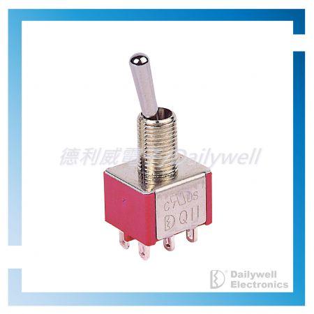 Interruptores de palanca en miniatura - Interruptores de palanca en miniatura