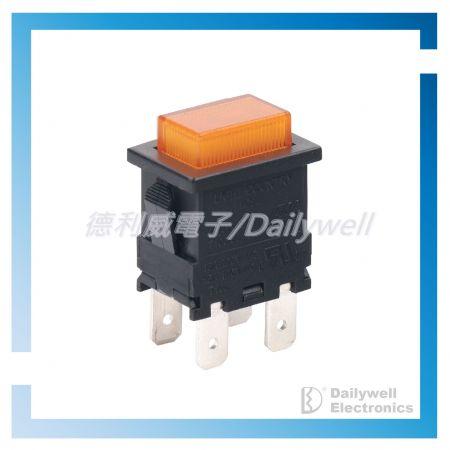 Drucktastenschalter mit hoher Stabilität - Drucktastenschalter