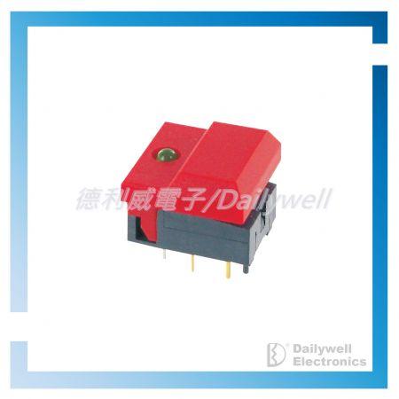 Interrupteurs à bouton-poussoir à verrouillage - Commutateurs à bouton-poussoir