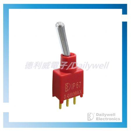 Interruptores de palanca sellados en subminiatura - Interruptores de palanca subminiatura sellados