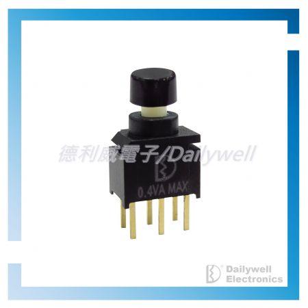 Interrupteurs à bouton-poussoir scellés ultra-miniatures - Interrupteurs à bouton-poussoir scellés ultra-miniatures