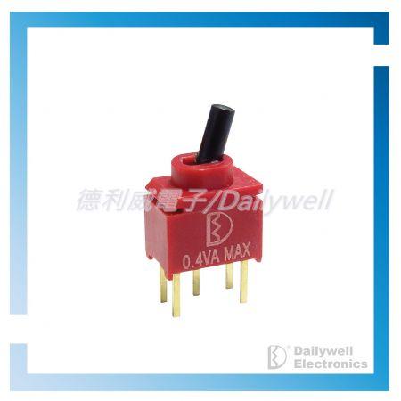 Interruptores de palanca ultraminiatura sellados - Interruptores de palanca ultraminiatura sellados