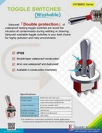 Toggle Switches (Washable) - 1MT88B52 Series