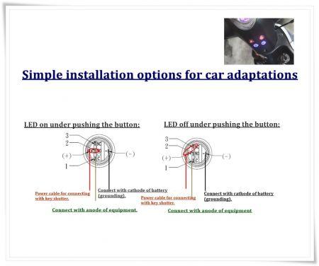 Jednoduchý režim trhu upravených automobilů