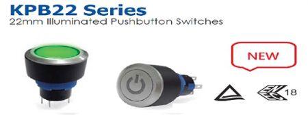 Estas son noticias CALIENTES para nuestros interruptores de la serie KPB22, que están completamente aprobados por la certificación TUV y ENEC