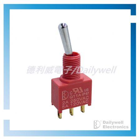 Interrupteurs à bascule miniatures scellés - Interrupteurs à bascule miniatures scellés