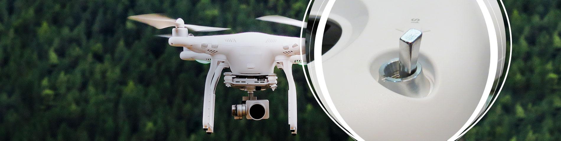 Industria aeromodellistica - Applicabile a telecomando di UAV