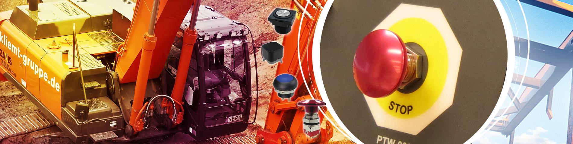 Endüstriyel endüstri -    Büyük ölçekli makineye uygulanabilir