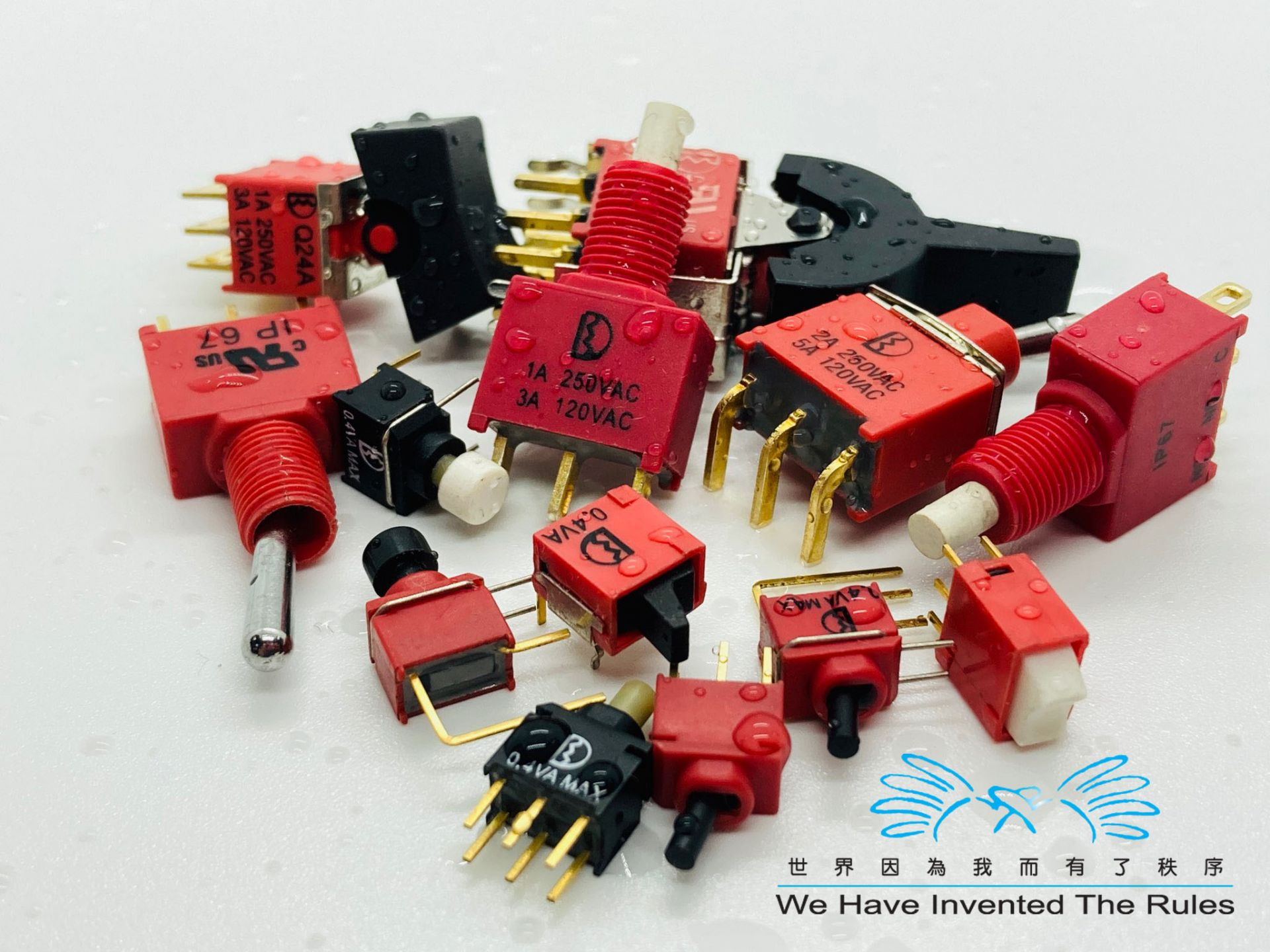 Waterproof series switches