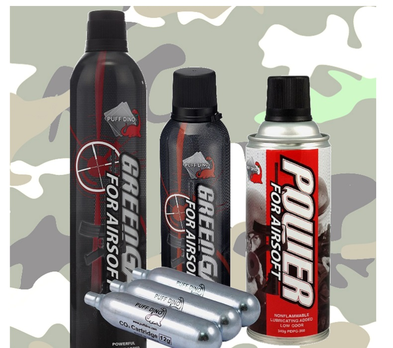 Airsoft Gas - PuffDino Gas - Stabile Perfektion