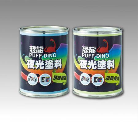 PUFF DINO Glow-In-The-Dark Paint - Luminous Paint Coating