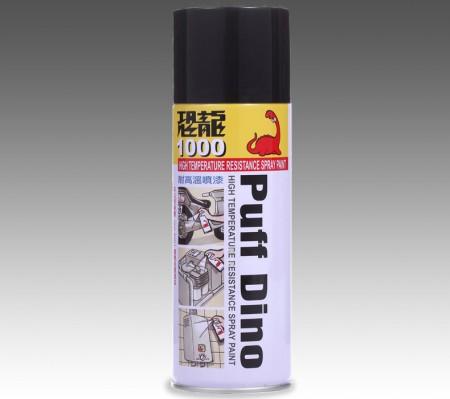 Pintura en aerosol resistente a altas temperaturas PUFF DINO - Alta temperatura. Pintura en aerosol resistente