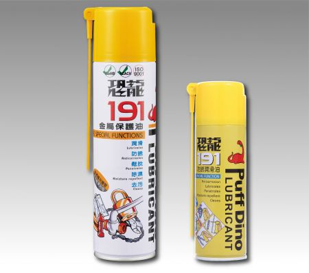 PUFF DINO 191 Anti-Rust & Lubricant - 191 رذاذ مضاد للصدأ والزيوت