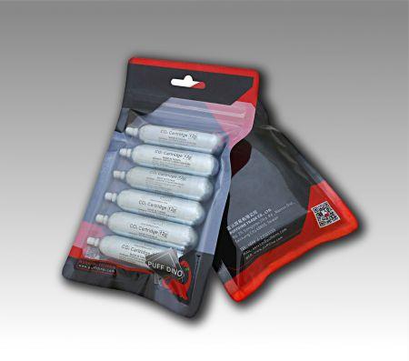 PUFF DINO CO2 Cartridge - 6pics - PUFF DINO CO2 Cartridge -12g - 6pcs