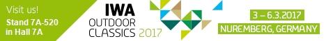2017IWA国際狩猟と荒野のサバイバル製品展での恐竜ガス - 2017-03ドイツ、ニュルンベルクでのIWA展示会