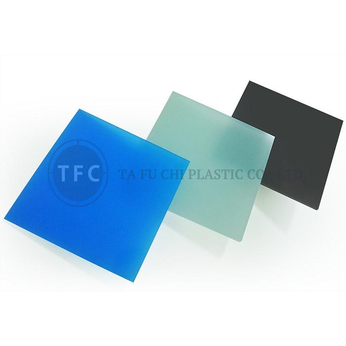 ورقة بلوري GPPS - ميزة صفائح PS المسطحة هي تنويع اللون.