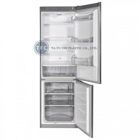 ABS malzeme, buzdolabının iç aksesuarıdır.