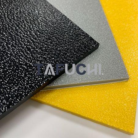 Hoja de plástico con textura ABS