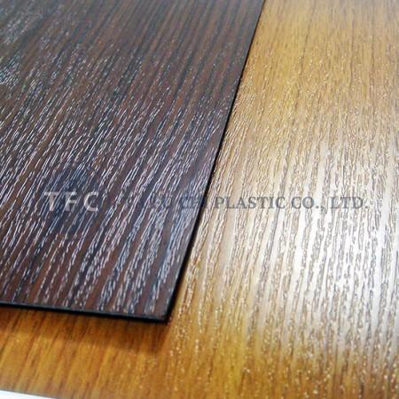 ورقة الحبوب الخشب PVC - يمكننا توفير باب الخشب الحبوب.