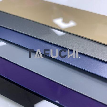 Folha de ABS com tampa acrílica - A folha de ABS com tampa acrílica é adequada para termoformação.