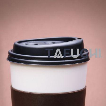 杯蓋使用HIPS板,環保耐熱,方便使用。