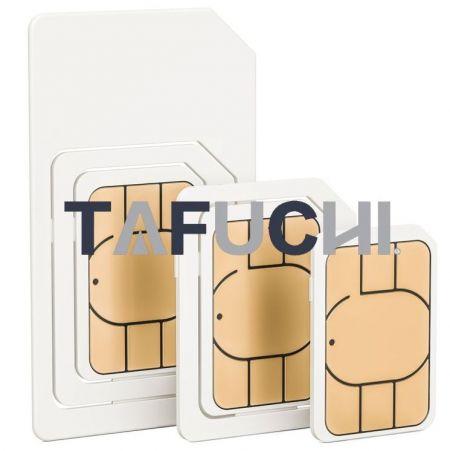 SIM kart, yüksek ısı direncine sahip ve yazdırması kolay ABS plastik plakayı kullanır.
