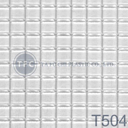 GPPS Patterned Sheet -T504 - The feature of PS embossed sheets is diversification of patterns.