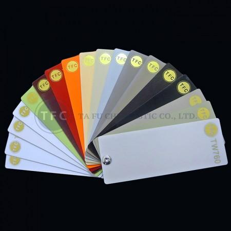 يمكننا تقديم عينات كاملة اللون.