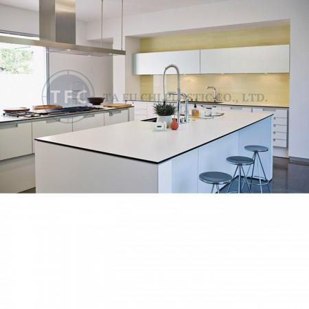 High gloss acrylic sheet is a popular interior material.